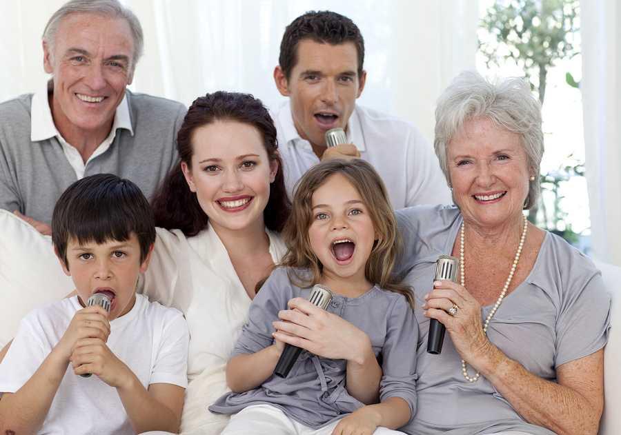 Мама, Папа и Я — поющая семья!!!