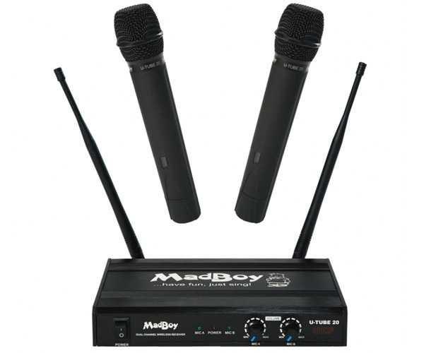 Беспроводной микрофон Madboy U-TUBE 20