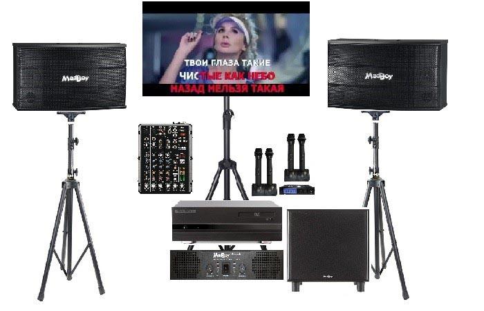 Комплект оборудования Karaoker-lite