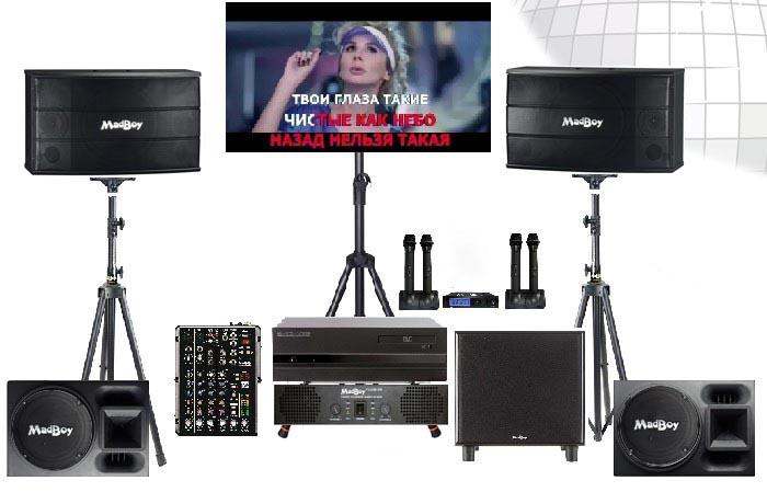 Комплект оборудования Karaoker-Profi