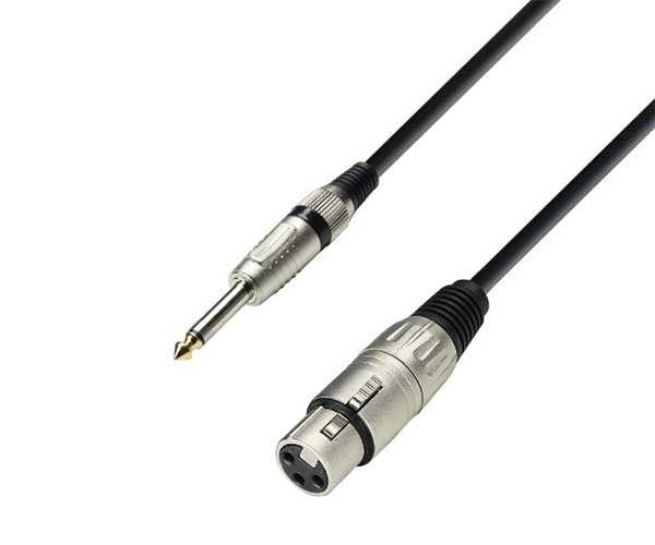 Adam Hall микрофонный кабель XLR 6,3 мм