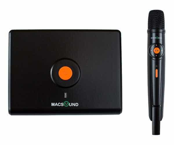 караоке система MAC-SOUND BLACK