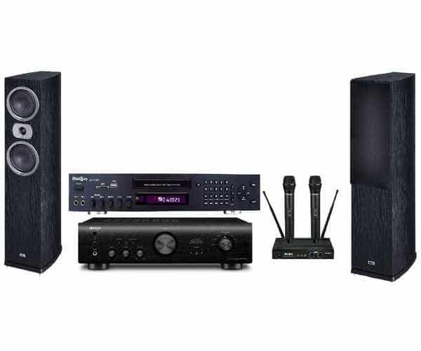 Домашний комплект караоке Voice 3