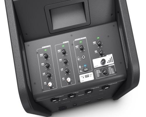 Портативная акустическая система линейного массива с акустическим кабелем