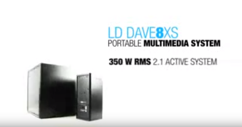 Видео обзор LD Systems DAVE 8 XS W