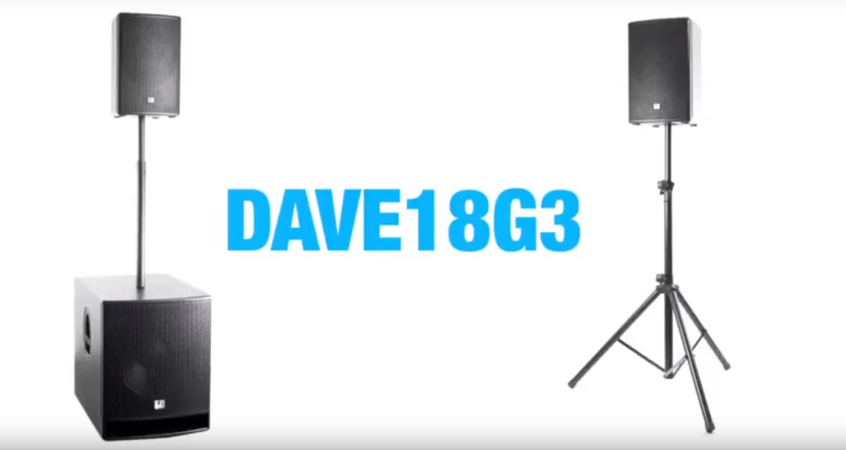 Видео обзор LD Systems DAVE 18 G3