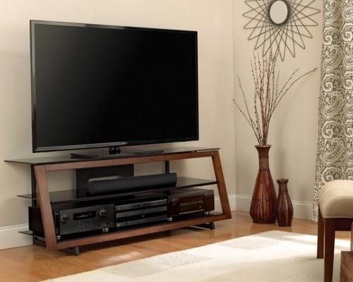 Аудио-Видео стойка для ТВ в цвете «тёмный эспрессо»