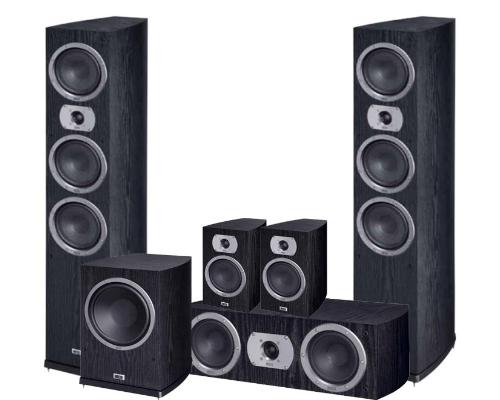 Heco Victa Prime Set 5.1 black (702+302+102+252 A)