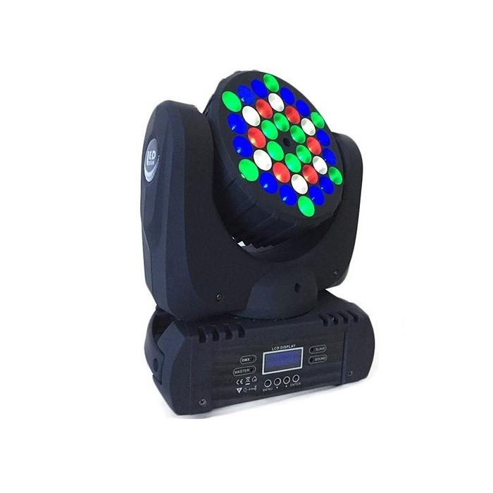 Active Light Светодиодная голова Wash 36*3w RGBW с узким лучом