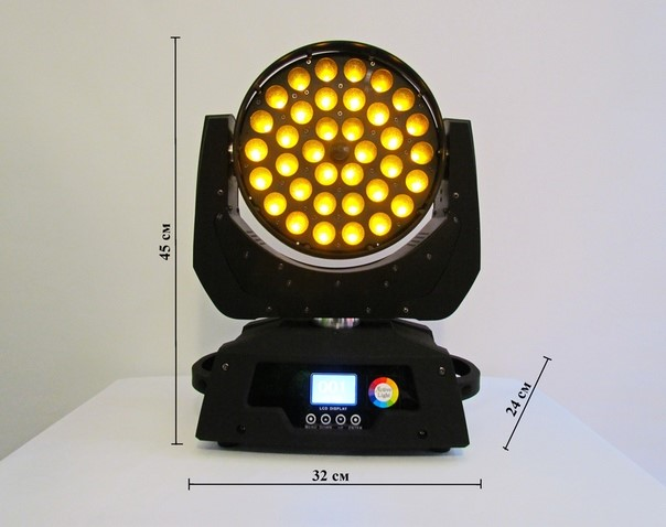 Active Light - Led Wash Zoom 36*18W RGBWA+Uv