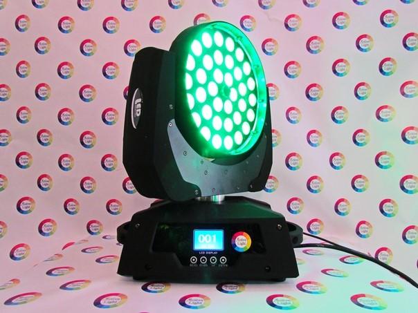 Active Light - Led Wash Zoom 36*18W RGBWA+Uv