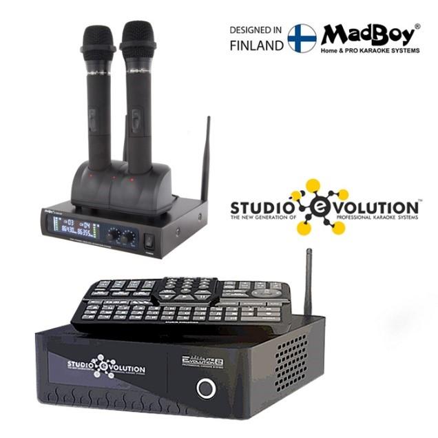 EVOLUTION LITE2 + беспроводной микрофон MADBOY U-TUBE 20R
