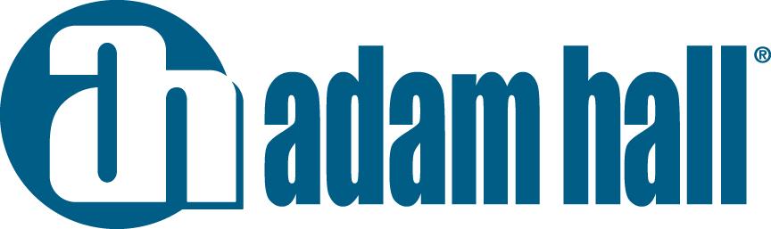 Adam Hall Logo blau
