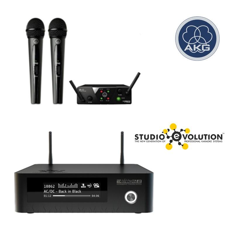 Evolution Lite2 AKG WMS40 MINI2 VOCAL