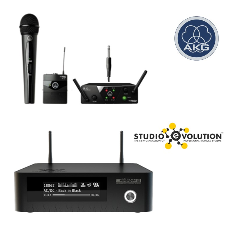 Evolution Lite2 Plus + AKG WMS40 MINI2 MIX SET