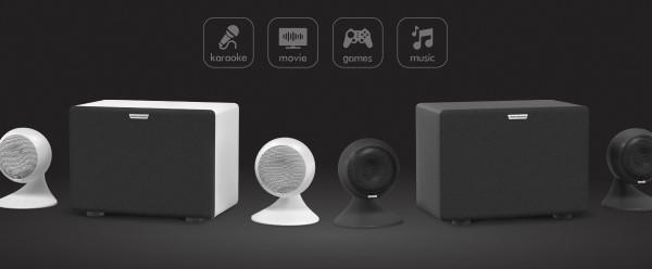 EvoSound Sphere — аудиосистема для караоке/тв/музыки