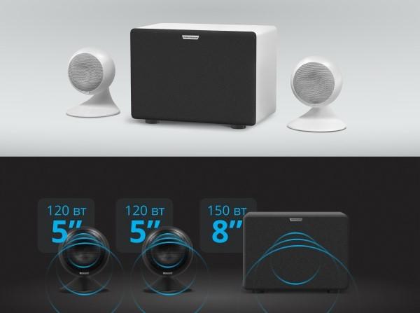 Домашний караоке комплект STUDIO, караоке приставка Evobox+Evosound Sphera акустика для дома+Evolution SE 200D беспроводной микрофон